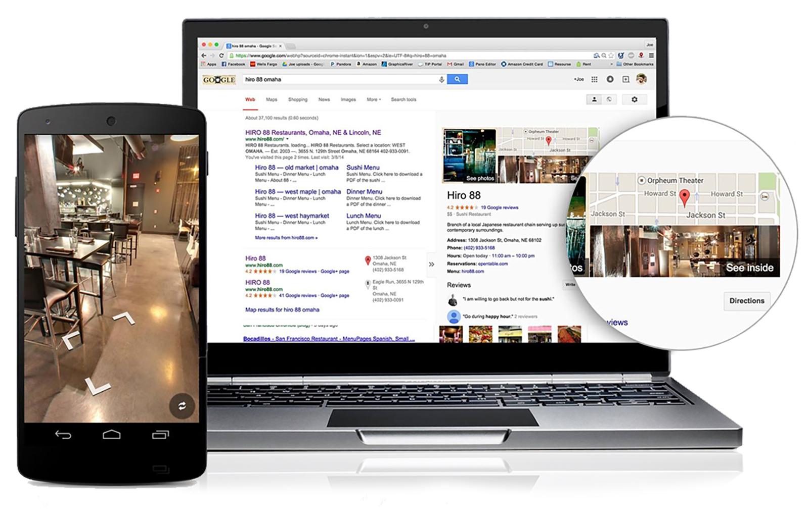 Google 360 Intro Visuals